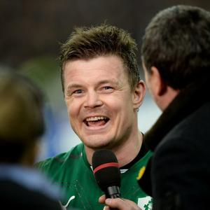Ireland's Brian O'Driscoll after the Six Nations match at the Stade de France, Paris, France.