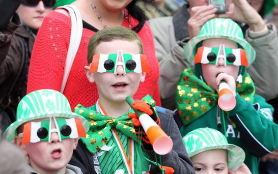 St Patrick's celebrations in Belfast
