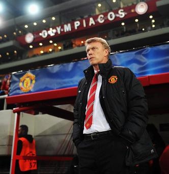 Manchester United manager David Moyes insists he has the backing of the club's board ahead of the crunch Champions League meeting with Olymiakos