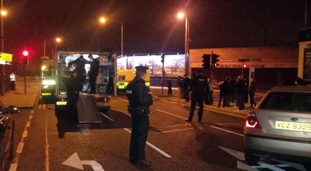 Bomb alert in east Belfast after discovery of suspect object