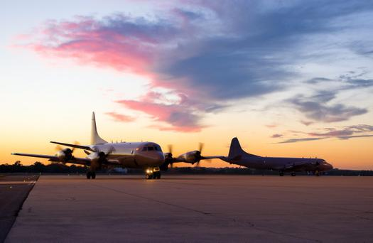 A Royal New Zealand Air Force P-3K2 Orion aircraft, pictured at RAAF Base Pearce, Western Australia, is to join the Australian Maritime Safety Authority-led search for Malaysia Airlines Flight MH370 in the southern Indian Ocean. (Photo by Justin Brown/Australian Department of Defence)