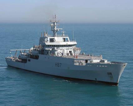 HMS Echo is being sent to help with the search for missing Malaysia Airlines flight MH370.