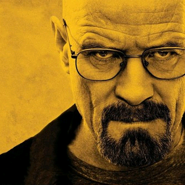 In Breaking Bad, unhappy chemistry teacher Walter White turns to making crystal meth