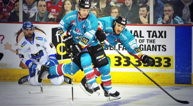 The Belfast Giants have defeated Hull Stingrays 3 - 2 at the Odyssey Arena