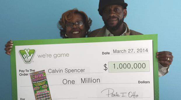 Calvin and Zatera Spencer won two $1 million prizes and a $50,000 within the space of four weeks