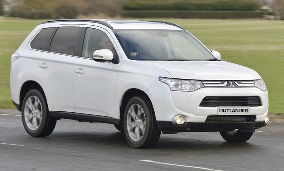 The new Mitsubishi Outlander has been designed from the ground up to accommodate the latest hybrid plug-in technology.