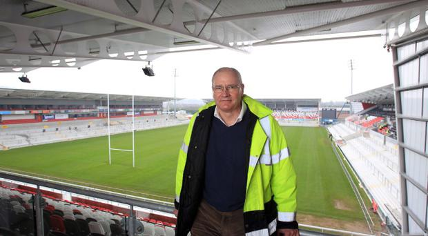 Ulster Rugby's Chief Executive Shane Logan at Ravenhill