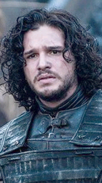 The battle for the wall: Jon Snow (Kit Harington) continues to fight the Wildlings in the Game of Thrones Season 4