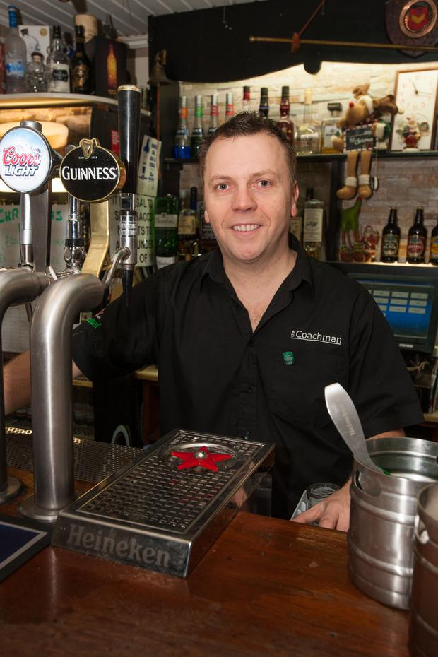 Mark Stewart enjoys being a pub landlord