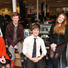 The Belfast Telegraph's guest editors - Rachael Adamson, Curtis Hill, Christopher Seeley, Callum Sweetlove, Kate Umphray and Michael McGrane