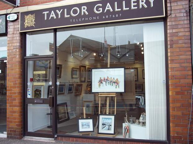 Taylor Art Gallery was severely hit by the economic downturn