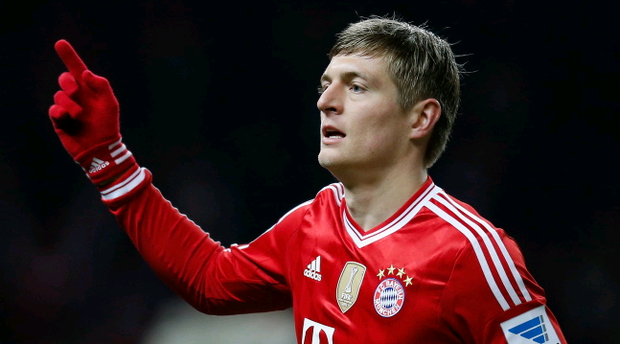 Toni Kroos has ambitions to play for Manchester United (Photo by Boris Streubel/Bongarts/Getty Images)