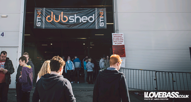 This is the fifth year Dubshed has taken place - it draws thousands of car heads to Belfast