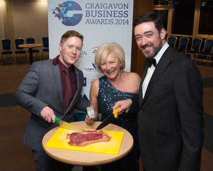 Guests at the Craigavon Business Awards held in the town's Civic and Conference Centre