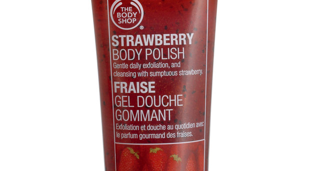 The Body Shop Strawberry Body Polish, £10. The Body Shop are rightly famous for their body care and this luscious scrub is no exception. It smells delicious, foams slightly and gently buffs away those dead skins cells leaving bright, smooth skin.