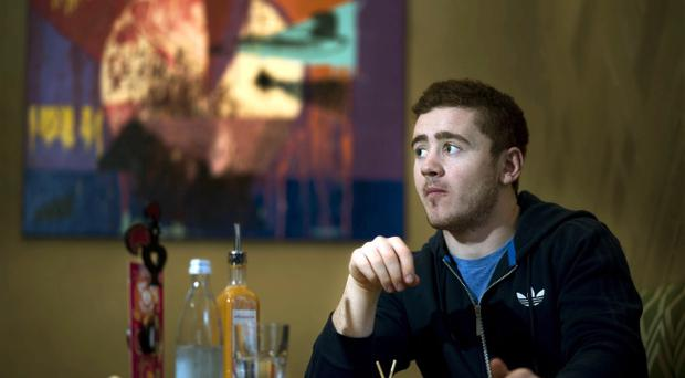Paddy Jackson was on hand to open the new Nando's restaurant in Londonderry yesterday