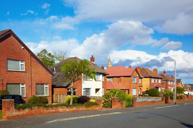 House prices in Northern Ireland are at an average £130,000