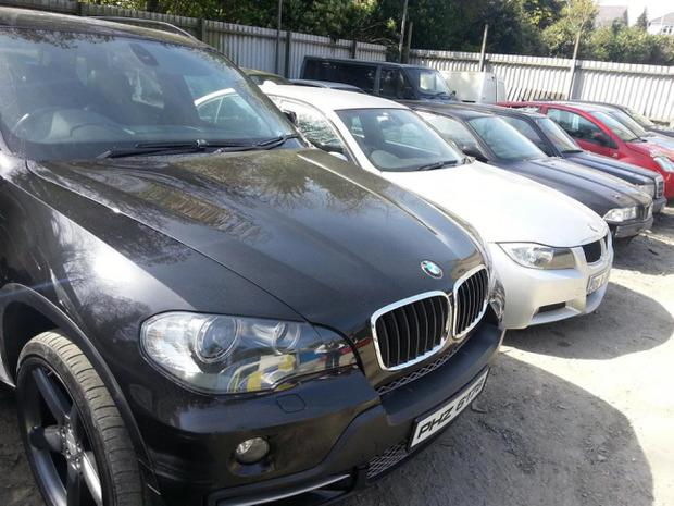 Cars and parts seized in Co Down