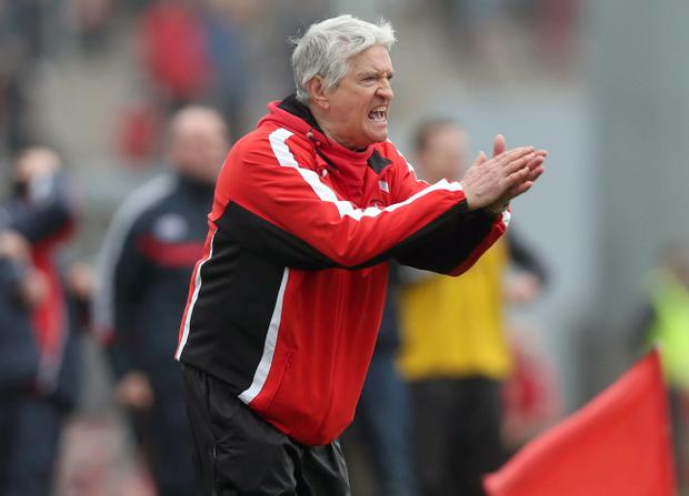Derry manager Brian McIver has been delighted with the way his side have been playing