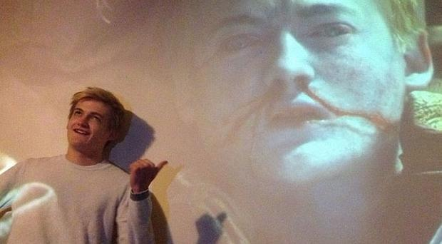 Jack Gleeson snapped during a screening of his final episode