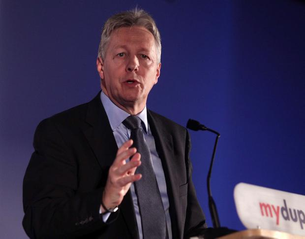 Peter Robinson said he believed the Executive can continue, in spite of its obvious failings