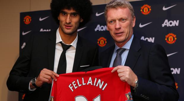 Manchester United signed Marouane Fellaini last year but so far the midfielder has disappointed in his performances for the club
