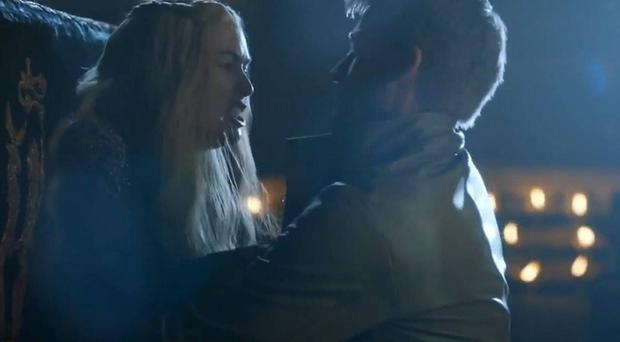 Jaime and Cersai Lannister in 'Breaker of Chains'