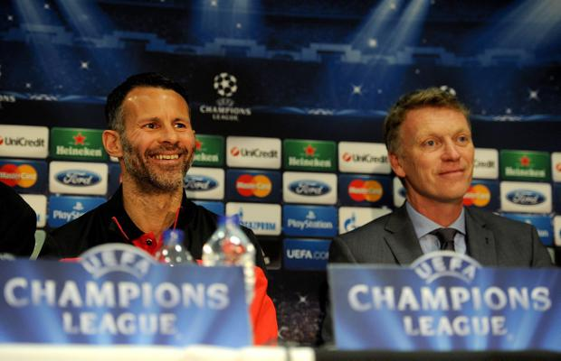 Ryan Giggs (left) was present with Sir Alex Ferguson at the first meeting David Moyes held at Carrington after his appointment and he accepted a place on his coaching staff, but it is clear that the relationship barely lasted