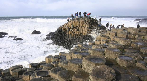 Giant's Causeway: Tourism Ireland is aiming to see the number of French tourists coming to Northern Ireland rise to 512,000 by 2016