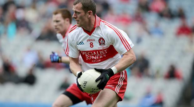 Derry's Patsy Bradley is well-established in the county side and will lead the charge against Dublin on Sunday