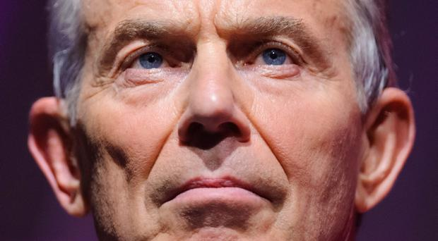 Former Prime Minister Tony Blair, who will warn that the West must put aside differences with Russia over Ukraine to focus on tackling the threat from radical Islam.
