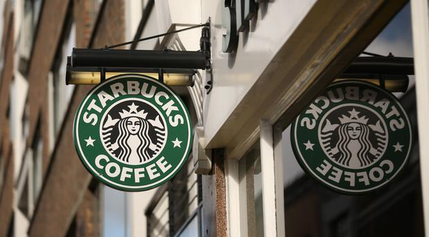 Starbucks said revenues fell by 3.4 per cent to £399.4m in the year to September from £413.4m a year earlier. (Photo by Oli Scarff/Getty Images)