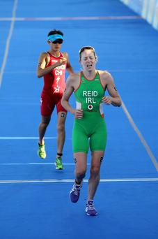Aileen Reid of Ireland starts her World Triathlon Series quest in Cape Town tomorrow