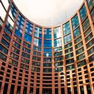 The European Parliament buildings in Strasbourg. Botond Horvath / Shutterstock.com