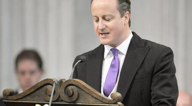 Prime Minister David Cameron described the UK as a 'Christian country'