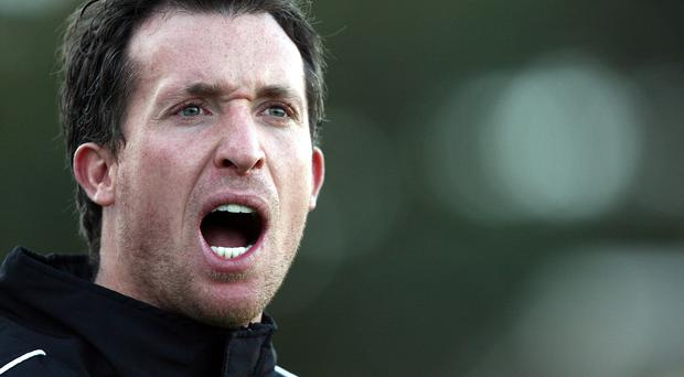 Robbie Fowler played with Warren Feeney at Cardiff. (Photo by Paul Kane/Getty Images)