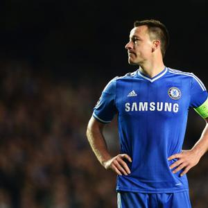LONDON, ENGLAND - APRIL 30: John Terry of Chelsea looks dejected during the UEFA Champions League semi-final second leg match between Chelsea and Club Atletico de Madrid at Stamford Bridge on April 30, 2014 in London, England. (Photo by Jamie McDonald/Getty Images)