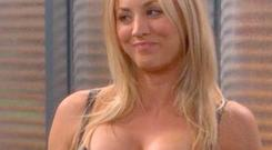 5 Kaley Cuoco from Big Bang Theory.