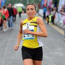 Cathy Mc Court Winner of the Mixed Relay