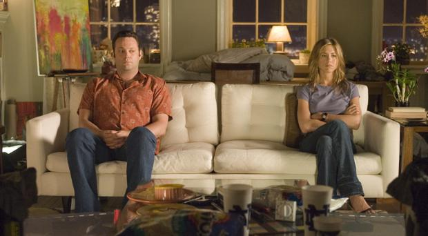 Vince Vaughn and Jennifer Aniston in hit movie The Break-Up