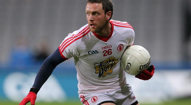 Defensive wall: Martin Penrose can steady Tyrone with his solid tackling