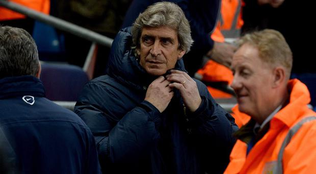 Manuel Pellegrini's Manchester City need just a point against West Ham to win their second Premier League trophy in three years