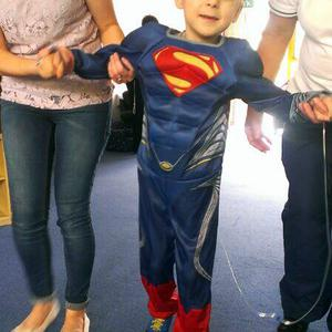 Oscar Knox's family posted this photo on Twitter last month, saying: