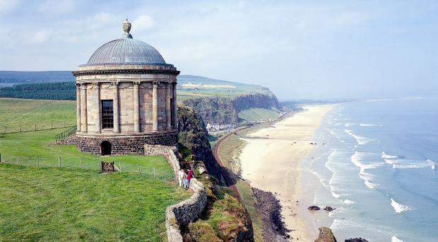 Mussenden Temple, Downhill