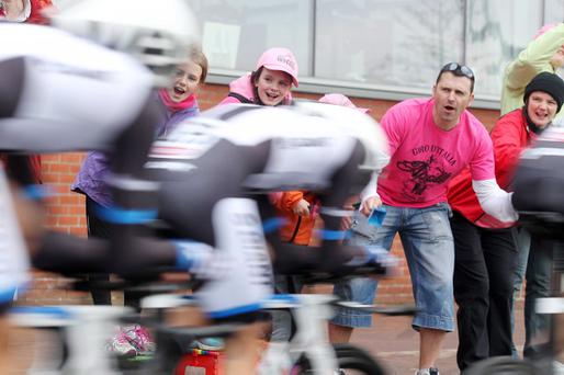 Day one of the Giro in Belfast