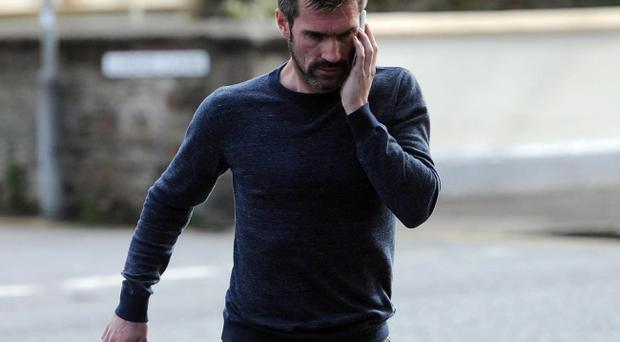 Former Northern Ireland Football star Keith Gillespie at Newtonards Court on Friday May 9, 2014. Photo Colm Lenaghan/Pacemaker Press