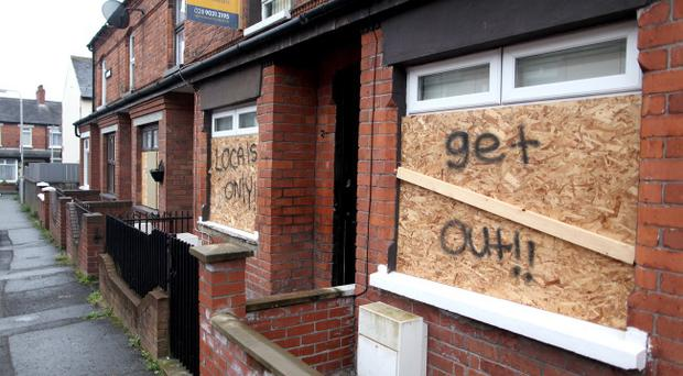 Racist attacks are on the rise in Belfast