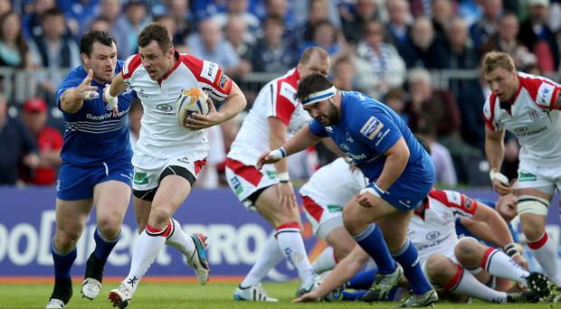 RaboDirect PRO12 Play-Off, RDS, Dublin 17/5/2014 Leinster vs Ulster Tommy Bowe of Ulster Mandatory Credit ©INPHO/Dan Sheridan