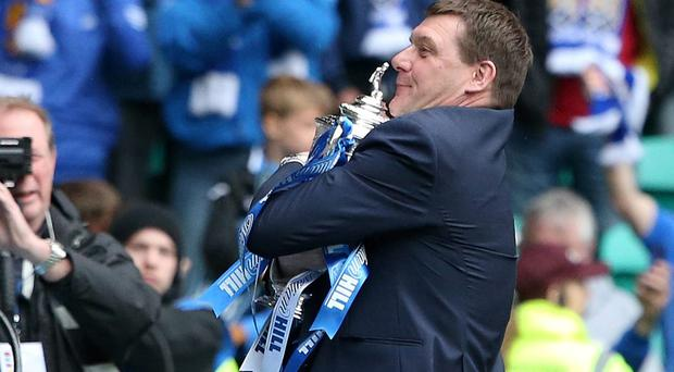 St Johnstone manager Tommy Wright