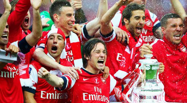 Arsenal are the current holders of the FA Cup